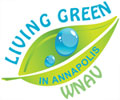 living green in annapolis logo