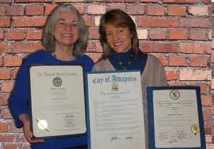 lynne & elvia with citations