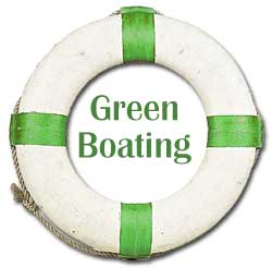 green boating logo
